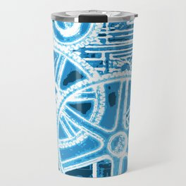 Geared Up ( Big Blue) Travel Mug
