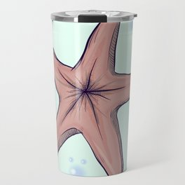 Chocolate Starfish Travel Mug