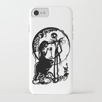 nightmare before christmas iPhone & iPod Cases featuring A Nightmare Before Christmas by iankingart