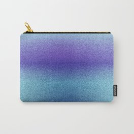 Blueberry Icy Print Carry-All Pouch