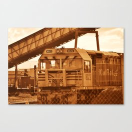 train of thoughts Canvas Print