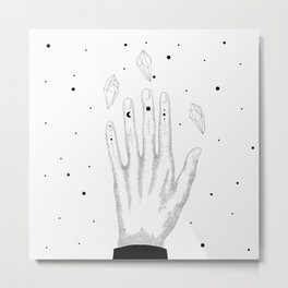 Diamond Star Metal Print