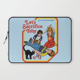 LET'S SACRIFICE TOBY Laptop Sleeve