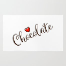 Love Chocolate Rug