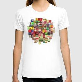 Antique Matchbooks T-shirt