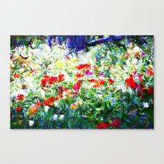 Garden Impressionism Canvas Print