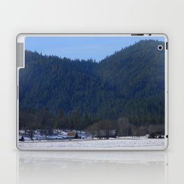 Beautiful wintry day in Hayfork, California.... Laptop & iPad Skin