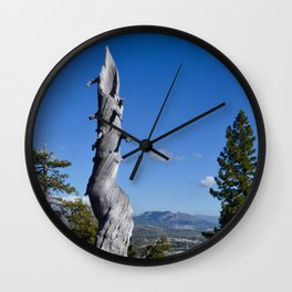 alpine memory Wall Clock