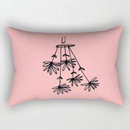 flower eater V Rectangular Pillow