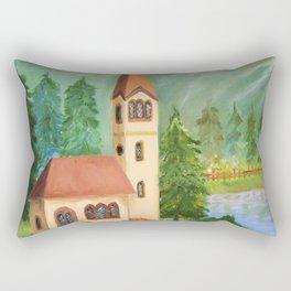 House Rectangular Pillow