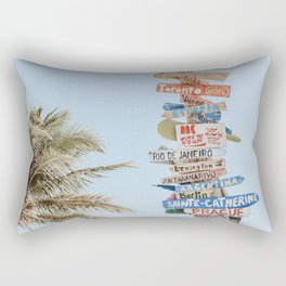 summer wanderlust Rectangular Pillow