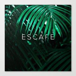 Escape into the Jungle Canvas Print