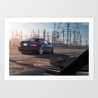 bmw Art Prints featuring BMW 135i by 1013MM