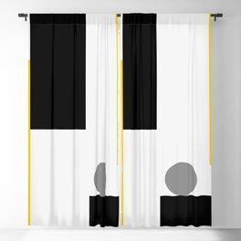 Square Bottom Blackout Curtain