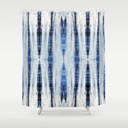 Nori Blue Shower Curtain