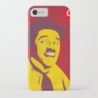 charlie chaplin iPhone & iPod Cases featuring Charlie Chaplin by jnk2007