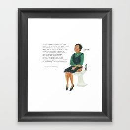 Rosa Parks Framed Art Print