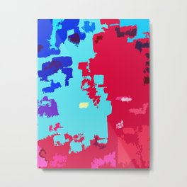 Colorful Cutout Metal Print