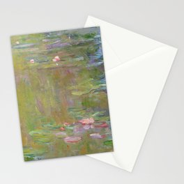 Water Lily Pond by Claude Monet Stationery Cards