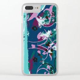 Modern Eslimi Clear iPhone Case