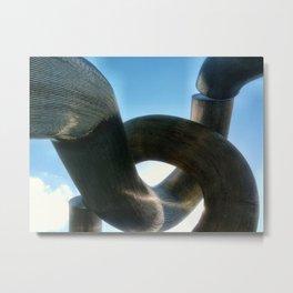 Metal Curve I Metal Print
