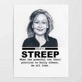 Meryl Streep Poster