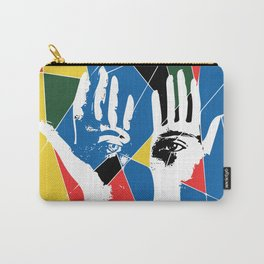 Mystic Hands Vintage Graphic Design Art Decoration Carry-All Pouch