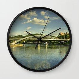 Vilnius Castle Bridge Wall Clock