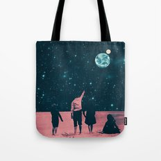 Once Upon A Time on Mars or Children of Mars Tote Bag