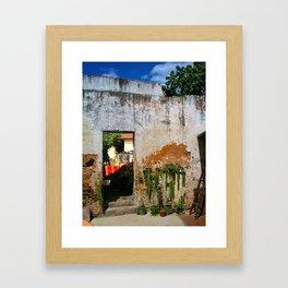 PALADAR FROM CUBA Framed Art Print