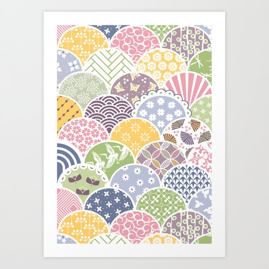 Spring Scales Art Print