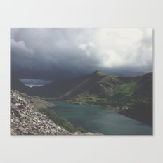 Storm coming. Canvas Print