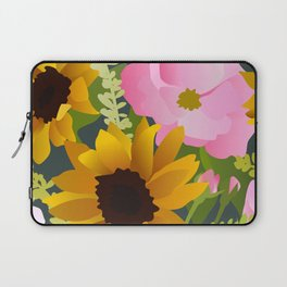 Sunflowers and Roses Laptop Sleeve
