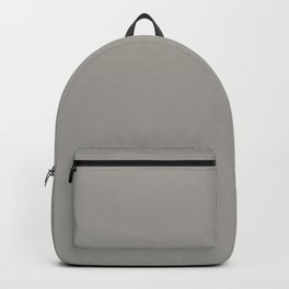 Drizzle Grey | Solid COlour Backpack