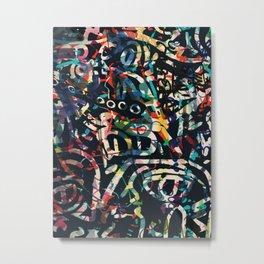 Graffiti Abstract Art Spray Paint Metal Print