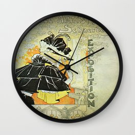 Vintage poster - French Exposition Wall Clock