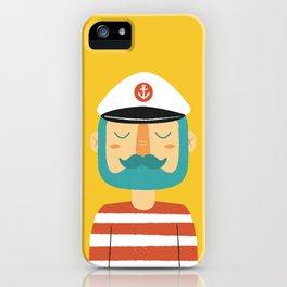 Ahoy Sailor iPhone Case