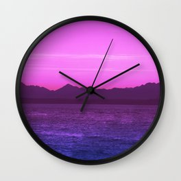 Bi Pride Wall Clock