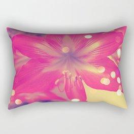 Secret Garden| Pink tigress  Rectangular Pillow
