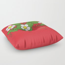 The Strawberry Ballet Floor Pillow
