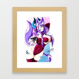 *Kiss* Framed Art Print
