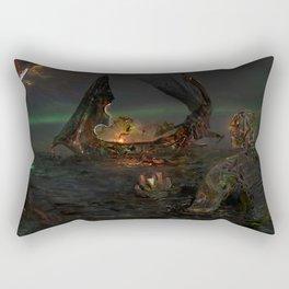 Illis and the Tarman - The Summoning Rectangular Pillow