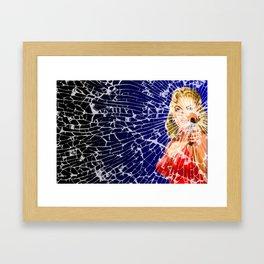 Shattered Wideshot Framed Art Print
