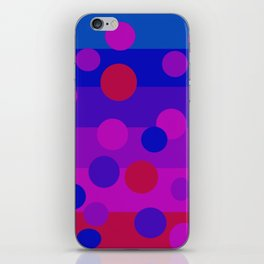 Sweet Berry Pie with Floating Circles iPhone Skin