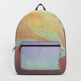 Somewhere over the rainbow, way up high Backpack