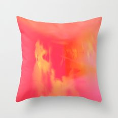 Acid Sun Throw Pillow