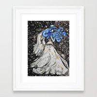 bride Framed Art Prints featuring Bride by Tricia Kibler