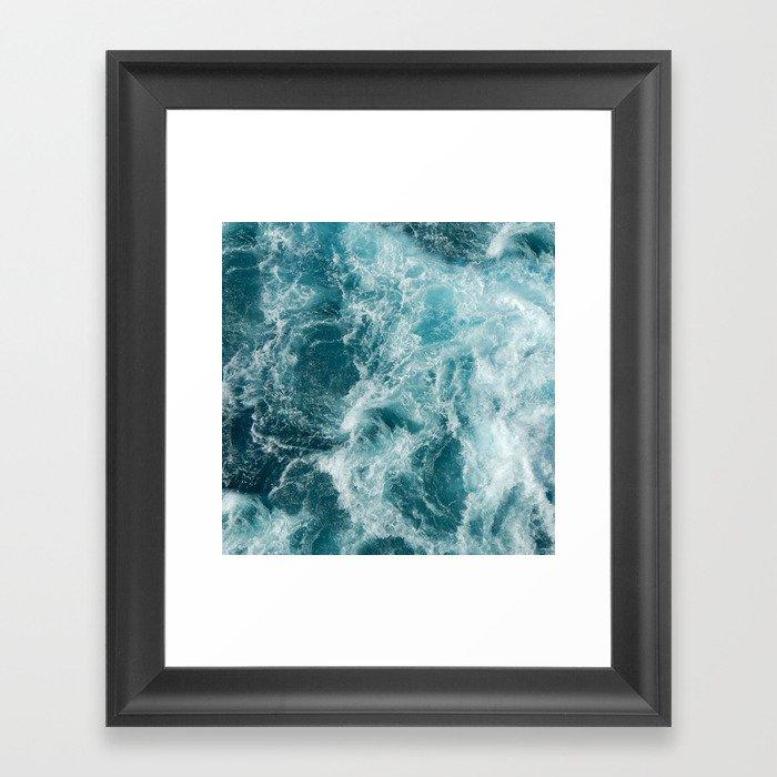 Sea Gerahmter Kunstdruck