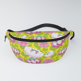 Groovy Lotus Fanny Pack