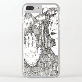 Portrait of Maya Deren Clear iPhone Case